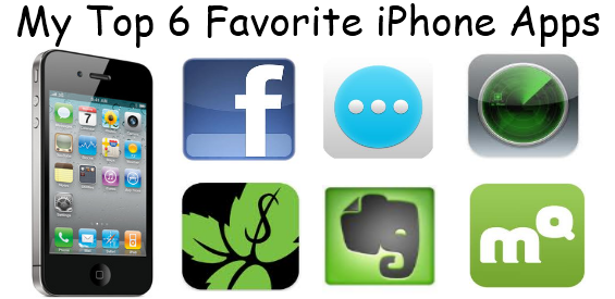 My Top 6 Favorite iPhone Apps for Daily Use - Must Have iPhone Apps