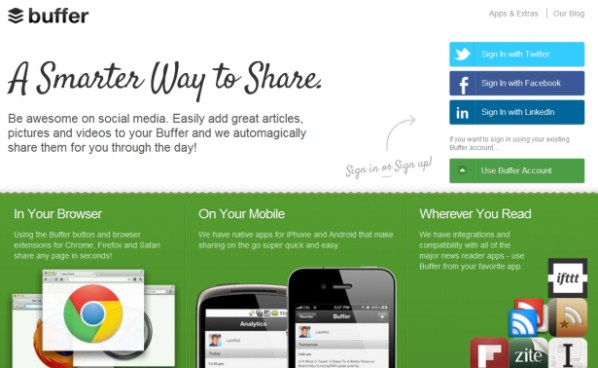 Buffer - A smarter way to Social Media Automation Management