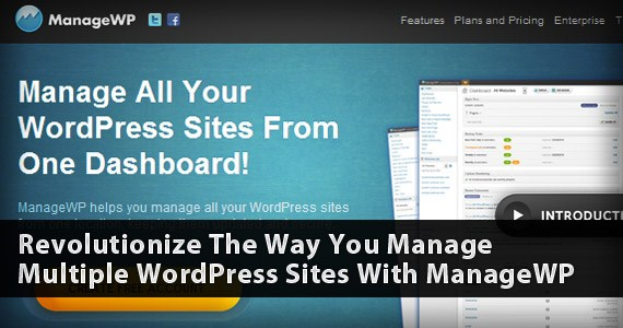 ManageWP - The Best Way To Manage WordPress Blogs And Websites