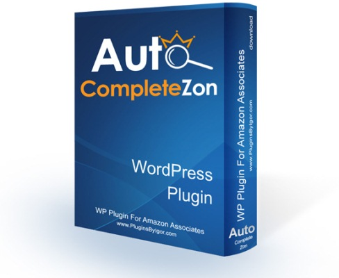 AutoCompleteZone WordPress Plugin For Amazon Associates