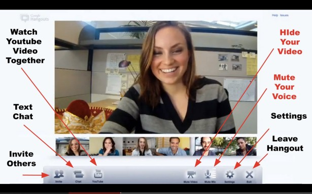 Google Hangouts Screenshot From Kate Harper