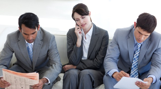 Taking Toll Free Call From Office - Business Lady Taking To Customer On Toll Free