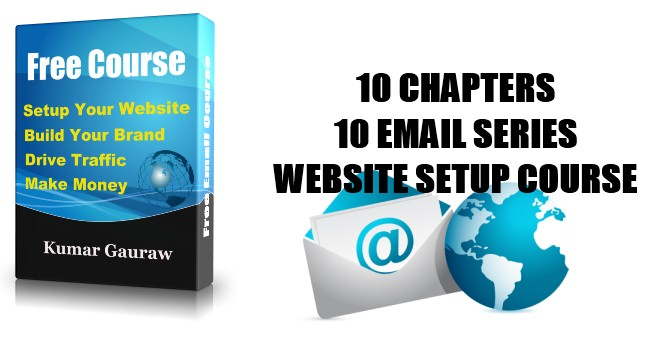 Introducing Website Setup Education Program Email Course