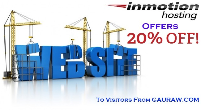 InMotion Hosting Special Discount Offer For Kumar Gauraw Website Visitors