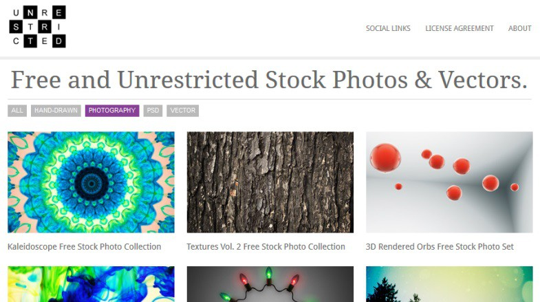 Download Unrestricted Stock Images for free