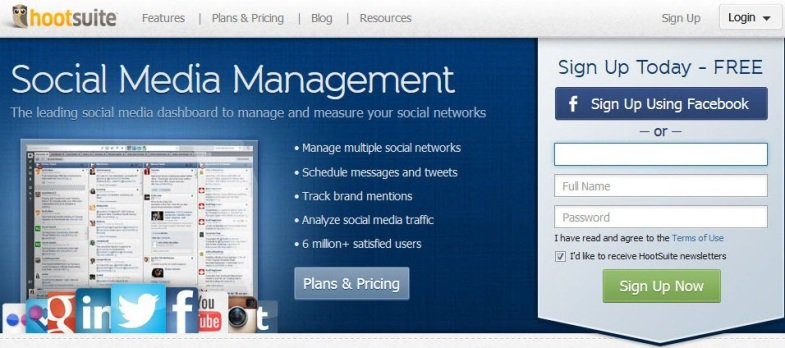 Social Media Management Using Hootsuite Features