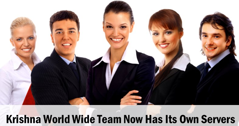 Krishna World Wide Team - Manages Its Own WordPress Hosting Servers