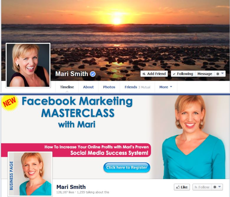 Mari Smith Facebook Profile And Facebook Page