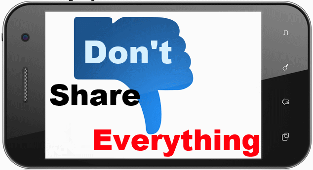 Do not share everything on social networking sites because it may complicate your career-business-life