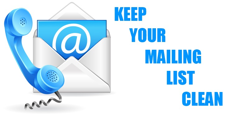 Keep Your Mailing List Clean - Remove People Who Unsubscribe - Save Money