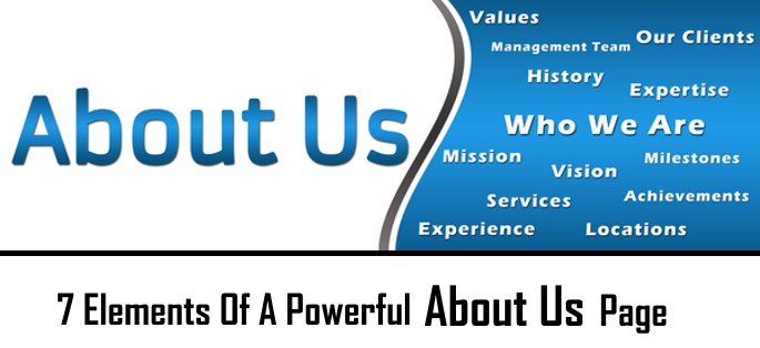 7 elements of a powerful about us page for your website whether it is personal or business website