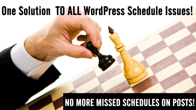 Permanent solution to the WordPress Error of Missed Schedules on posts and other scheduled tasks