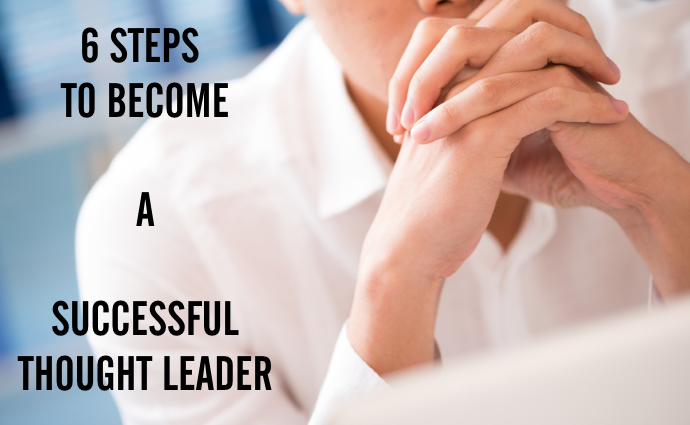 how to become an industry thought leader