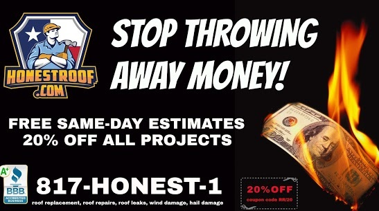 Honest Roof Promotional Banner